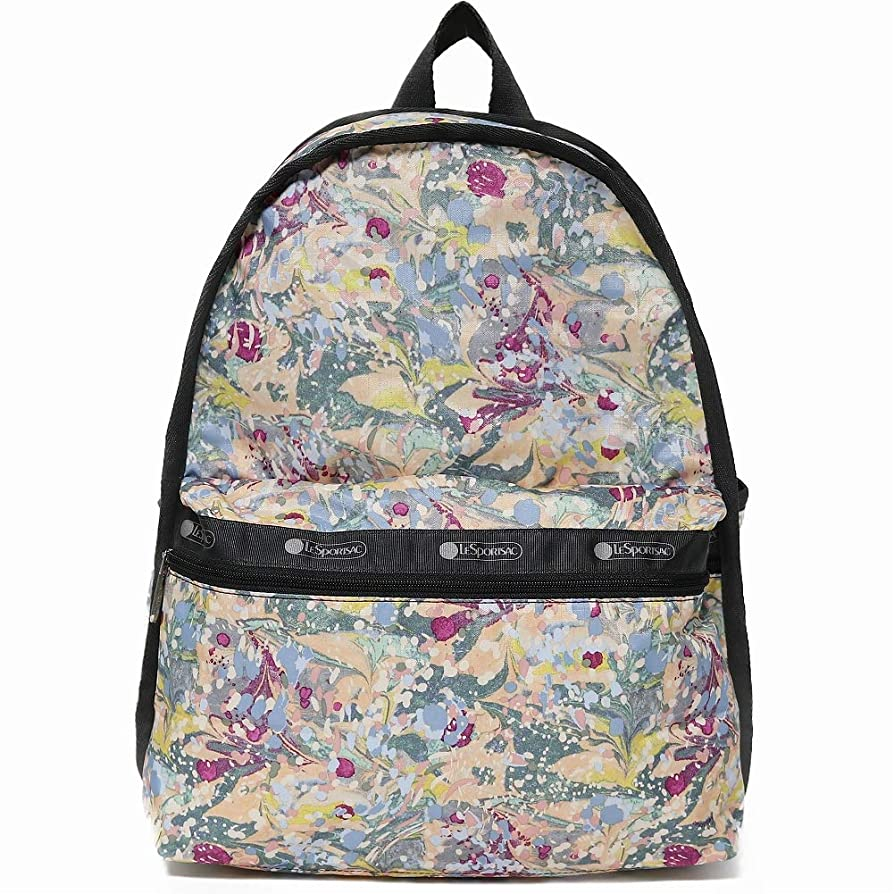 アーサーコナンドイル好むセージLeSportsac レスポートサック リュックサック 7812 Basic Backpack E133 GALAXY SWIRL [並行輸入品]
