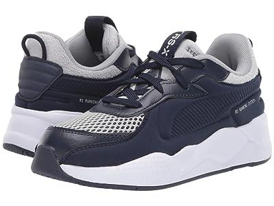 Puma Kids RS-X Soft Case (Big Kid) (Peacoat/Quarry) Boys Shoes