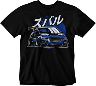 Subie WRX STI Fifth Generation Blue T-Shirt