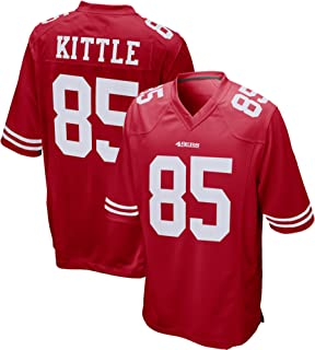 VF LSG Men's George - Kittle San-Francisco-49ers Comfortable Jersey-Red