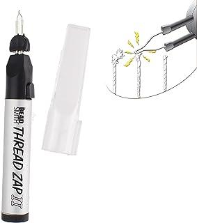 The Beadsmith Thread Zap II, Thread Burner, 5.25 inches, Push Button, Battery Operated (1xAA), Trim, Burn and Melt Thread ...