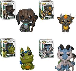 Funko Pop! Monstruos de bosque húmedo: Mt Shuksan Monsters Set de 4: Grumble, Magnus Twistknot, Liverwort y Mulch