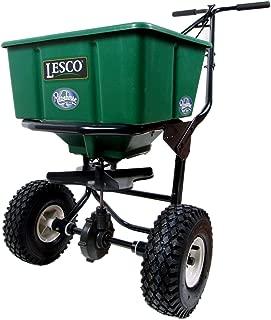 lesco lawn fertilizer spreader settings