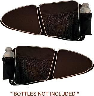 Door Bags For Polaris RZR XP 1000 TURBO XP4 900XC S900 Off Road Pair Knee Pad Storage