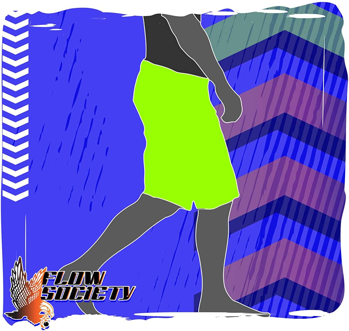 Flow Society Boys Call of Flow Boys Athletic Shorts Gym Shorts Boys Shorts