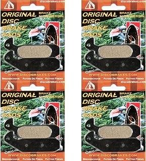 4 Pairs of Kevlar Magura Gustav Disc Brake Pads, 8 Pads + 4 Springs DH M gustaff