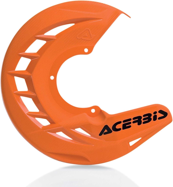 Acerbis X-Brake Disc Cover Orange Bike MX Universal Offroad Sale SALE% OFF Dirt Popular shop is the lowest price challenge
