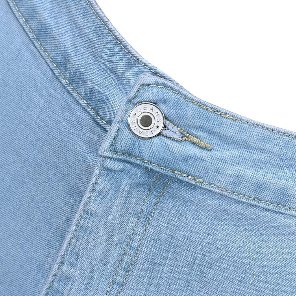 Women's Bootcut Jeans Modern Fashion Sexy Slim High Waist Bell Button Denim Flare Pants Jeans