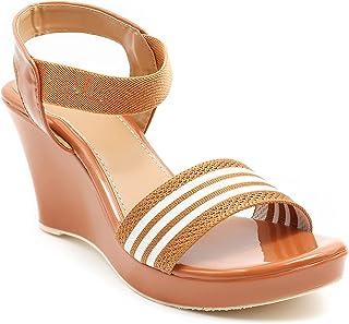 Divain Womens Heeled Fashion Sandal (Ch -706)