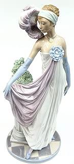 Lladro - Socialite of The 20's, Glazed Porcelain Figurine