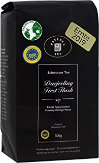 Darjeeling First Flush Ernte 2019 500g 33,90 Euro / kg Paulsen Tee Schwarzer Tee rückstandskontrolliert & zertifiziert