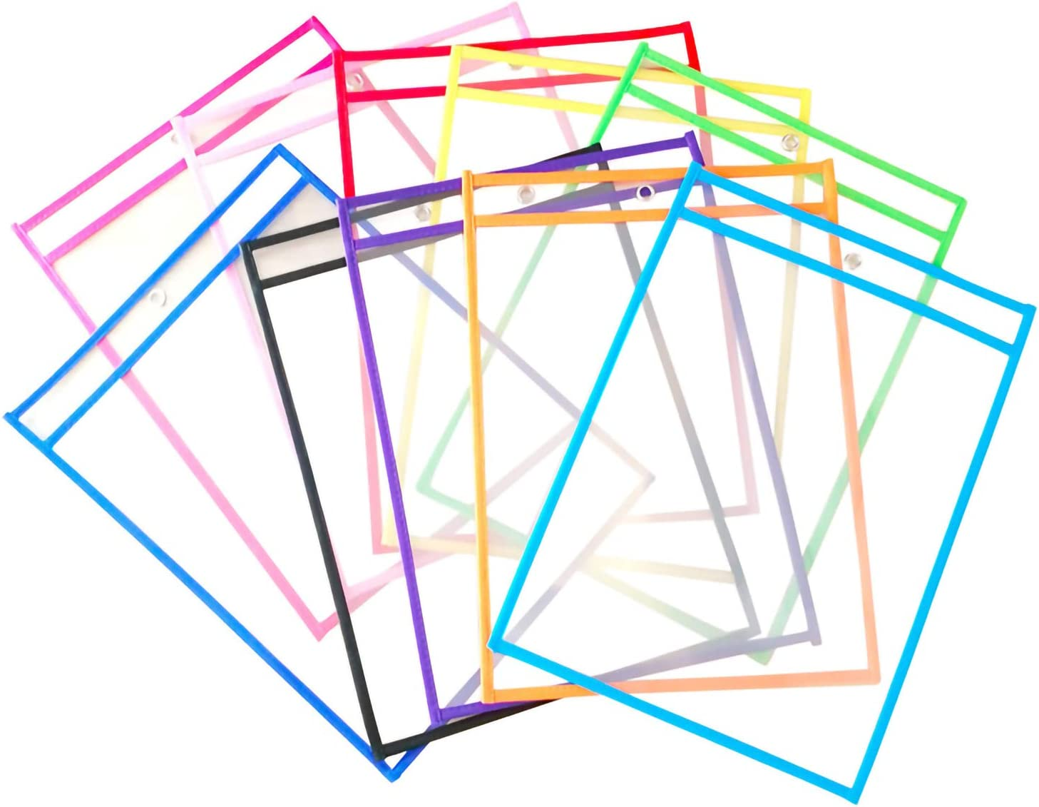 Dry Erase Ranking TOP12 Bag Reusable Sale price Sheet Plastic Protectors Clear