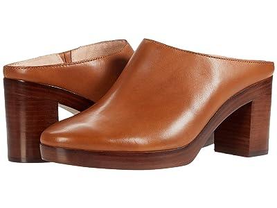 Madewell Jojo Platform Mule (English Saddle Leather) Women