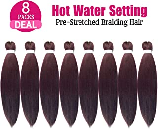Lady Corner Pre-Stretched Braiding Hair Omber 26