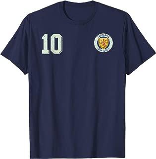 Retro Scotland Soccer Jersey Scottish Football T-Shirt 10