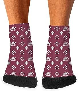 Man Crew Socks Elastic Printed Sports Knee Socks