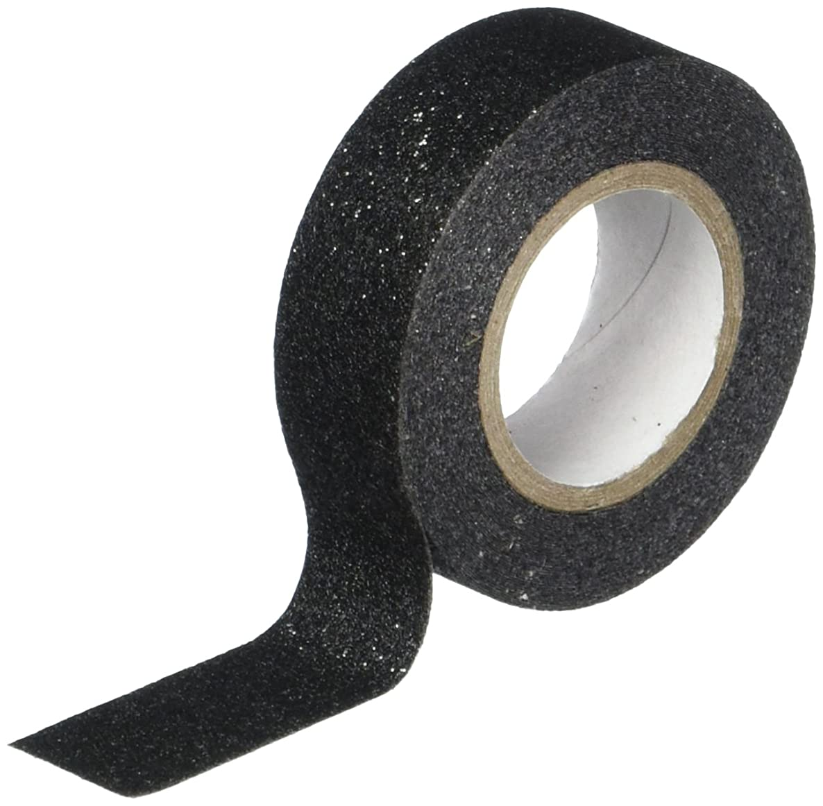 Best Creation Glitter Tape, 15mm by 5m, Black