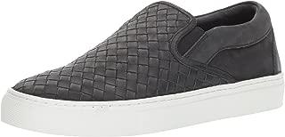 JSlides Men's Dawson Fashion Sneaker, Black, 12 M US