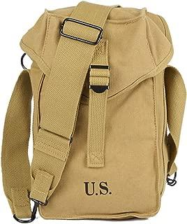 Oleader WW2 U.S. Army M1 Ammunition Pouch Ammo Bag Khaki Canvas