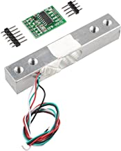 HALJIA Portable Electronic Weight Sensor Load Cell Weighing Sensor (1KG) + HX711 Weighing Sensors Ad Module Compatible with Arduino Raspberry Pi DIY Etc