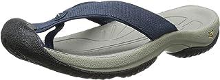 KEEN Men's Waimea H2 Beach Sandal, Midnight Navy/Neutral Gray, 11.5 M US