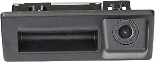 Tailgate Trunk Handle Back up Reverse Rear View Parking Camera for Skoda Octavia MK3 A7 5E/VW Caddy MK3 2K/A4L VW Touran L/Tiguan L/Teramont/C-Trek 2016-2018,Audi A4 A4L S4 RS4 B9 8W,Skoda Superb 3V