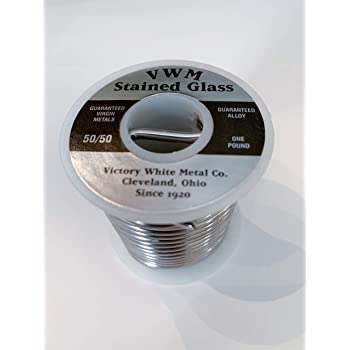 Victory White Metal Stained Glass Solder, 50/50 16 Ounce
