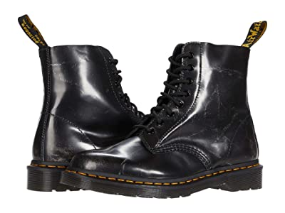 Dr. Martens 1460 Pascal (Metallic Silver) Shoes