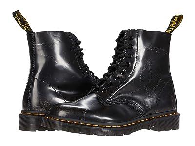 Dr. Martens 1460 Pascal (Metallic Silver) Shoes