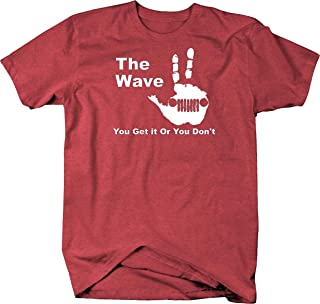 The Wave - You Get it Or You Don't T Shirt 2XL Heather Red