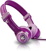 JLab Audio JBuddies Kids- Volume Limiting Headphones, Guaranteed for Life - Purple