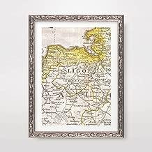 SLIGO COUNTY IRELAND IRISH MAP VINTAGE ANTIQUE HISTORICAL ART PRINT POSTER Home Decor Wall Picture A4 A3 A2 (10 Sizes)