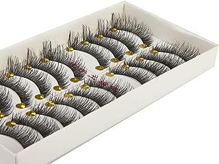 Big sale 10 Pair/Lot Crisscross False Eyelashes Lashes Voluminous Hot Eye Lashes