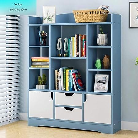 KKCD Estanterías estante libros, con patas Gabinete de ...