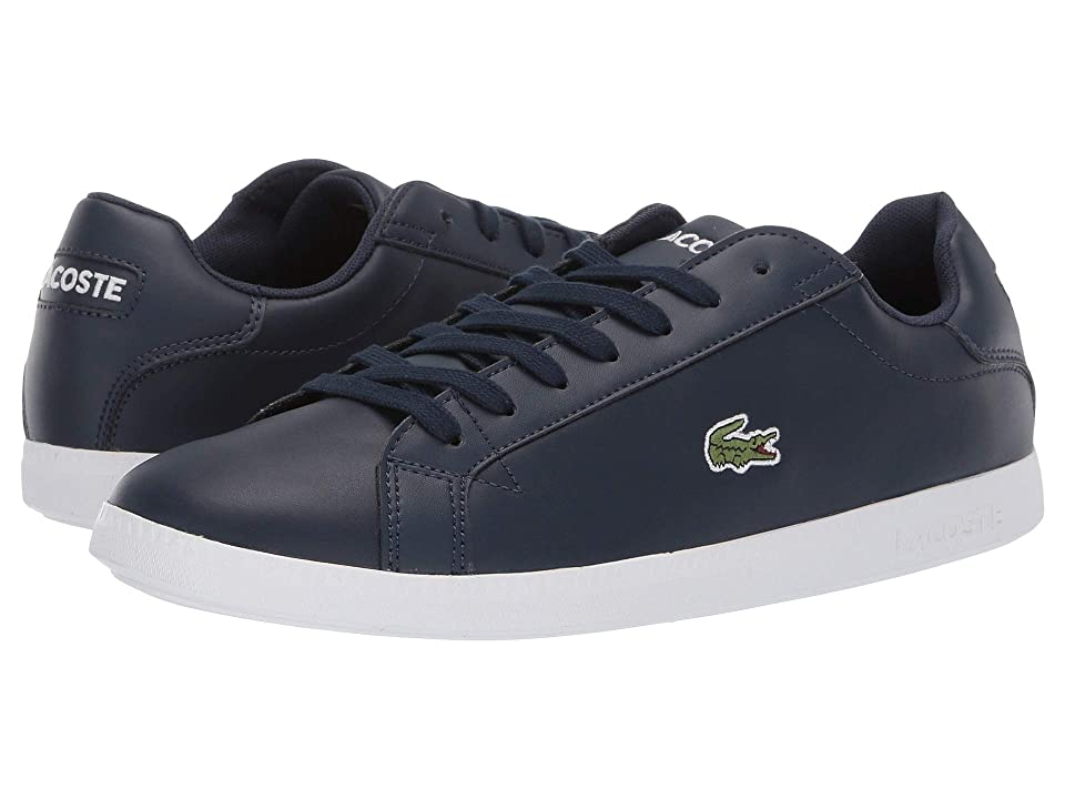 Lacoste Graduate BL 1 SMA (Navy/White) Men
