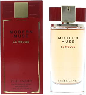 Estee Lauder Modern Muse Le Rouge Women's Eau de Parfum Spray, 3.4 Ounce