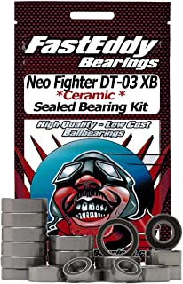 Tamiya Neo Fighter DT-03 XB Ceramic Rubber Sealed Ball Bearing Kit for RC Cars