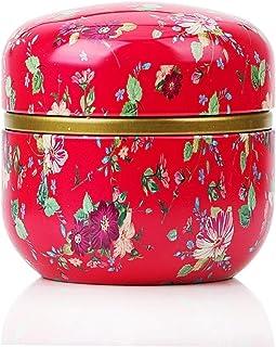 Tea Caddy HOOMIN thé Boîte à thé Pot Rangement Porte-boîtes de thé Matcha Container Mini Poudre de café Organisateur Boîte...