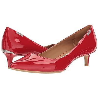 Calvin Klein Gabrianna Pump (Lipstick Red) Women