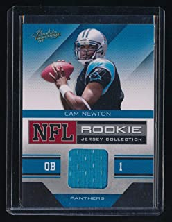 CAM NEWTON 2011 ABSOLUTE MEMORABILIA ROOKIE RC JERSEY COLLECTION *PANTHERS*