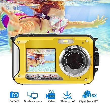 Waterproof Camera Underwater Camera for Snorkeling Full...