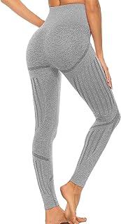 FITTOO Leggings Mallas Mujer Pantalones Deportivos Yoga Alta