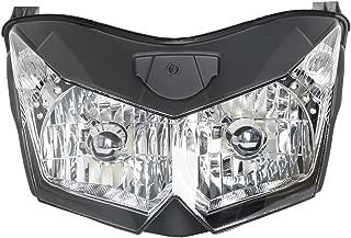 XMT-MOTOR Parabrezza per Moto Adatto per Ducati 848 1098 1198 Trasparente