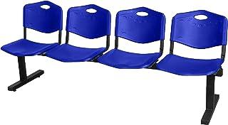 Piqueras Y Crespo (PIQU7) Bancada Bienservida Color Azul Sillas de Oficina, Talla Unica