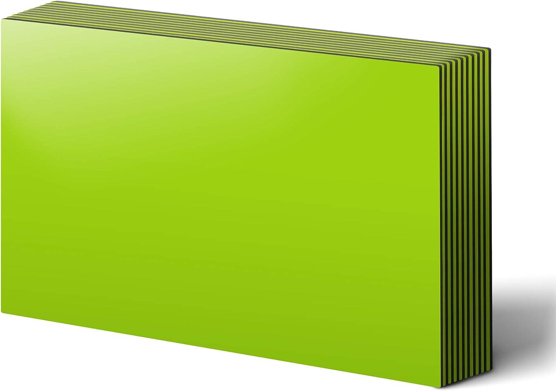 "LLPT Dry Erase Magnetic Sheets 6 5.9"" 8.3"" Max New popularity 51% OFF Reu Packs x"