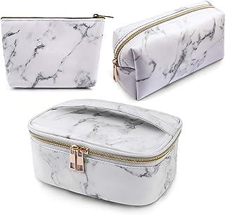 Makeup bag Marble -3 Pack