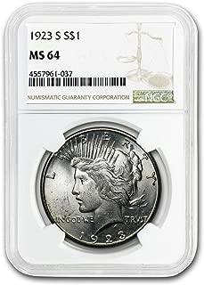 1923 S Peace Dollar MS-64 NGC Dollar MS-64 NGC