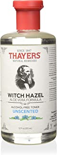 Thayer's Alcohol-Free Unscented Witch Hazel Toner (12 Oz)