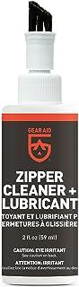Gear Aid Zipper Cleaner & Lubricant With Zipper Teeth Brush Gear Repair Kit, Clear, 2 oz, 29117