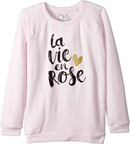 Extra Soft Love Knit Rose Pullover (Little Kids/Big Kids)